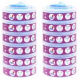 vidaXL Cassetes recarga p/ Sangenic TEC Diaper Twisters MK3/4/5 12 pcs