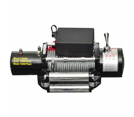 vidaXL Electric Winch 13000 lb 12 V[2/4]