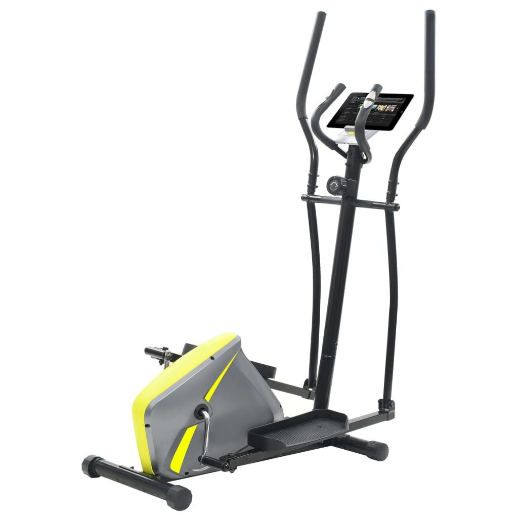 vidaXL Bicicletă eliptică magnetică cu măsurare puls vidaxl.ro
