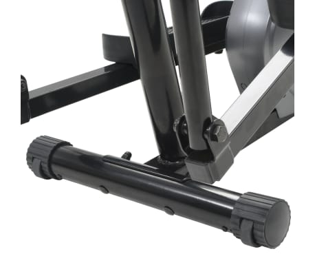 vidaXL Magnetni eliptični trenažer z merilnikom pulza[11/11]