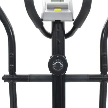 vidaXL Magnetni eliptični trenažer z merilnikom pulza[8/11]