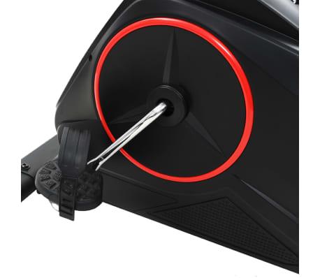 vidaXL Ligfiets hometrainer magnetisch met hartslagmeter[11/13]