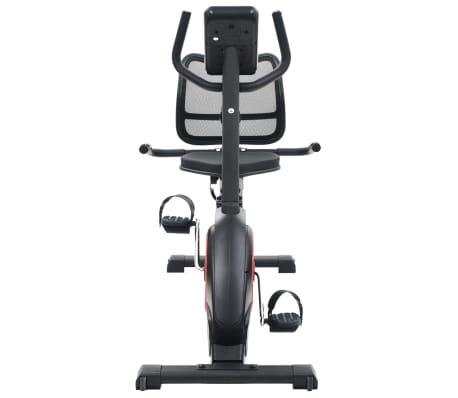 vidaXL Ligfiets hometrainer magnetisch met hartslagmeter[5/13]