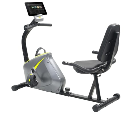 vidaXL Vélo semi-allongé d'exercice 5 kg Masse rotative[2/12]