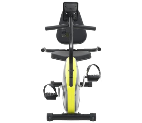 vidaXL Vélo semi-allongé d'exercice 5 kg Masse rotative[5/12]