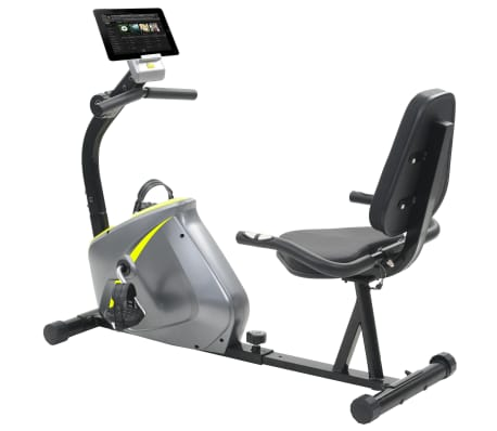 vidaXL Vélo semi-allongé d'exercice 5 kg Masse rotative[1/12]