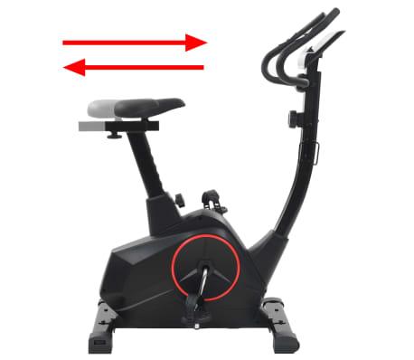 vidaXL Vélo magnétique d'appartement avec mesure du pouls XL[6/13]
