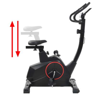 vidaXL Vélo magnétique d'appartement avec mesure du pouls XL[7/13]