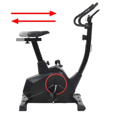 vidaXL Heimtrainer XL 10 kg Drehmasse Pulsmessung[6/13]