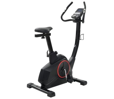 vidaXL Bicicleta estática magnética con pulsómetro programable[2/13]