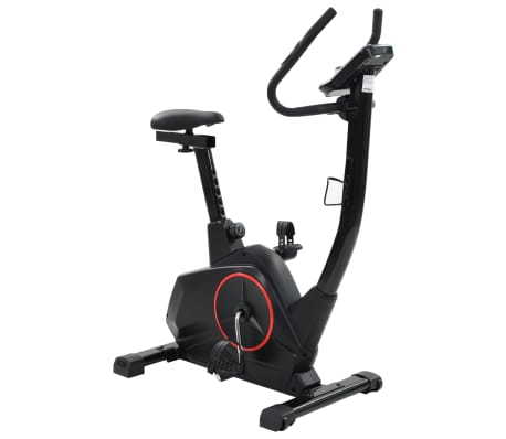 vidaXL Vélo d'appartement programmable Masse rotative 10 kg[3/13]