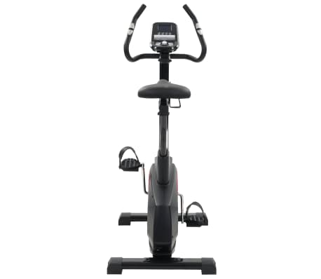 vidaXL Vélo d'appartement programmable Masse rotative 10 kg[6/13]