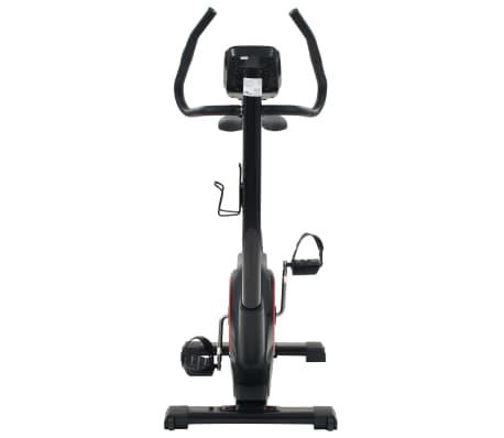 vidaXL Vélo d'appartement programmable Masse rotative 10 kg[7/13]