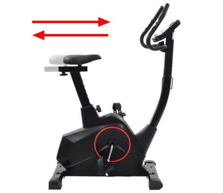 vidaXL Vélo d'appartement programmable Masse rotative 10 kg[8/13]