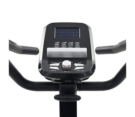 vidaXL Vélo d'appartement programmable Masse rotative 10 kg[10/13]