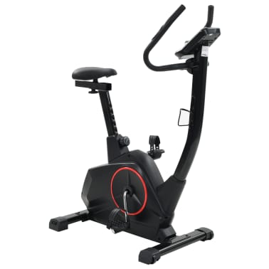 vidaXL Bicicleta estática magnética con pulsómetro programable[3/13]