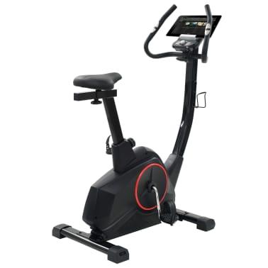 vidaXL Programowalny rower do ćwiczeń z pomiarem tętna[5/13]