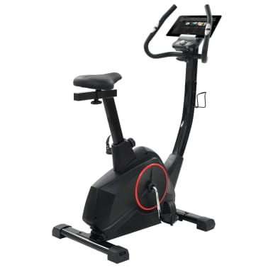vidaXL Bicicleta estática magnética con pulsómetro programable[5/13]