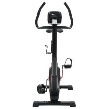 vidaXL Bicicleta estática magnética con pulsómetro programable[7/13]
