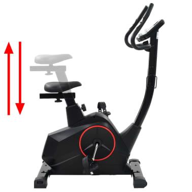 vidaXL Bicicleta estática magnética con pulsómetro programable[9/13]