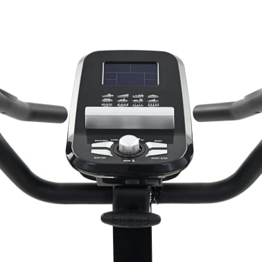 vidaXL Bicicleta estática magnética con pulsómetro programable[10/13]