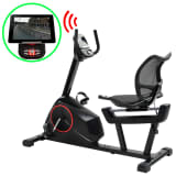 vidaXL Magnetic Recumbent Exercise Bike with Pulse Measurement Programmable