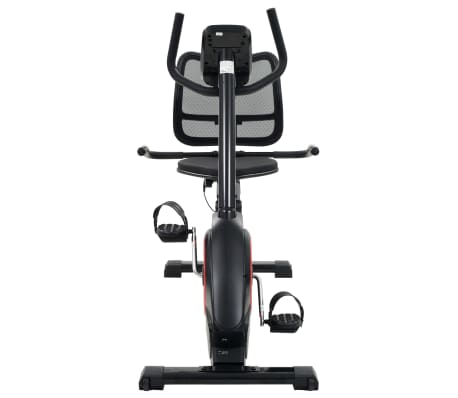 vidaXL Magnetic Recumbent Exercise Bike with Pulse Measurement Programmable[6/13]
