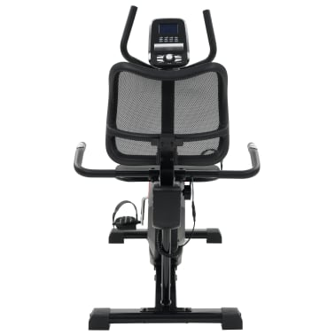 vidaXL Magnetic Recumbent Exercise Bike with Pulse Measurement Programmable[7/13]