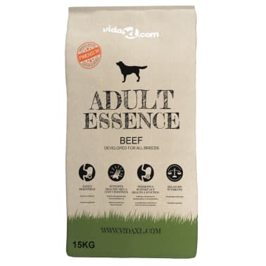 vidaXL Premium-Trockenhundefutter Adult Essence Beef 2 x 15 Kg[2/10]