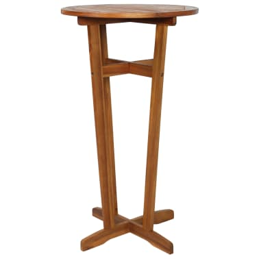 "vidaXL Bar Table Solid Acacia Wood 23.6""x41.3""[1/6]"