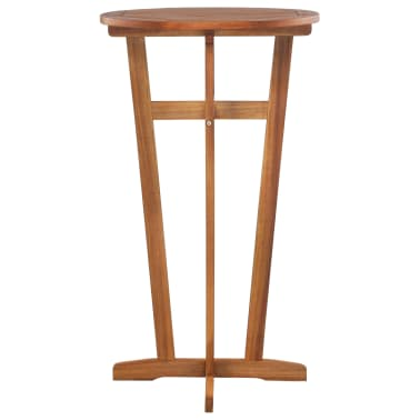 "vidaXL Bar Table Solid Acacia Wood 23.6""x41.3""[2/6]"