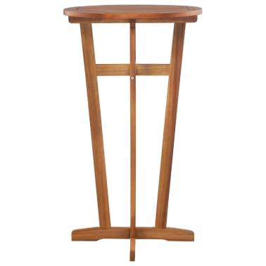 vidaXL Barový stůl z masivního akáciového dřeva 60 x 105 cm[2/6]
