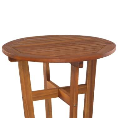 vidaXL Barový stůl z masivního akáciového dřeva 60 x 105 cm[3/6]