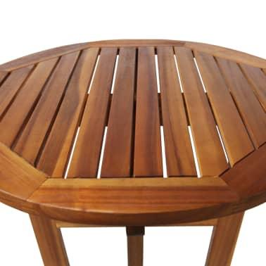 vidaXL Barový stůl z masivního akáciového dřeva 60 x 105 cm[4/6]