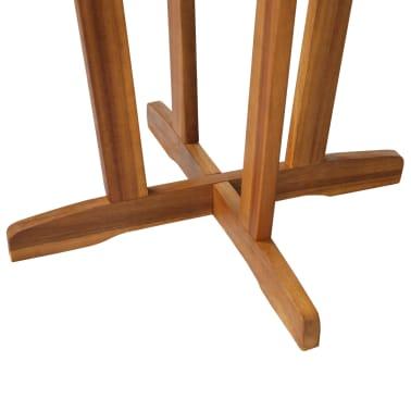 vidaXL Barový stůl z masivního akáciového dřeva 60 x 105 cm[5/6]