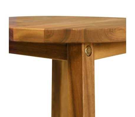 vidaXL 3 Piece Bar Set Solid Acacia Wood[4/8]