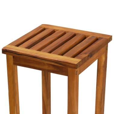 vidaXL Outdoor Bar Chairs 2 pcs Solid Acacia Wood[7/9]