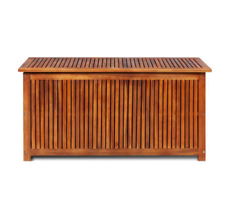 "vidaXL Outdoor Storage Box Solid Acacia Wood 46.1""x19.7""x22.8""[2/4]"
