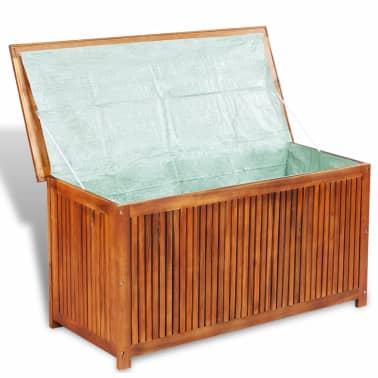 "vidaXL Outdoor Storage Box Solid Acacia Wood 46.1""x19.7""x22.8""[3/4]"