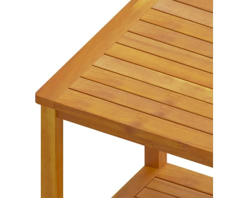 "vidaXL Side Table Solid Acacia Wood 17.7""x17.7""x17.7""[4/4]"