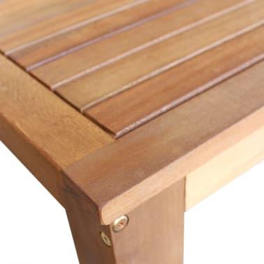 vidaXL Baro stalas, masyvi akacijos mediena, 60x60x105cm[3/4]