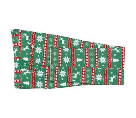 vidaXL Κοστούμι Ανδρικό Χριστουγεννιάτικο 2 τεμ. Πράσινο 54 με Γραβάτα[7/10]