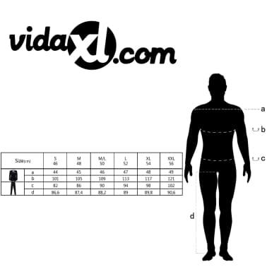 vidaXL Completo Uomo 2 pz con Cravatta Taglia 50 Tema Festivo Rosso[10/10]