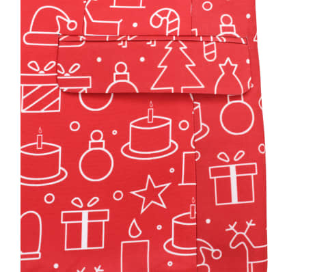 vidaXL Costume 2 pièces Noël et cravate Homme Taille 54 Cadeaux Rouge[6/10]