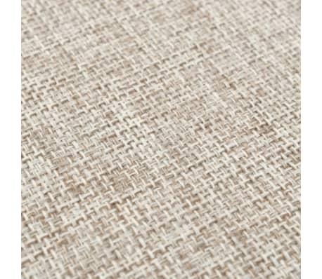 vidaXL Tabure od tkanine okrugli 56 x 40 cm bež[3/4]