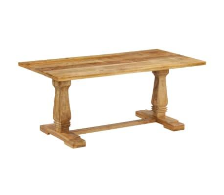 vidaXL Masă de bucătărie, 180 x 90 x 76 cm, lemn masiv de mango