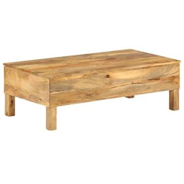 vidaXL Kavos staliukas, 110x55x35 cm, mango medienos masyvas[3/22]