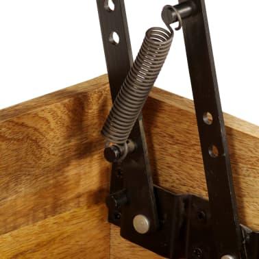 vidaXL Kavos staliukas, 110x55x35 cm, mango medienos masyvas[7/22]