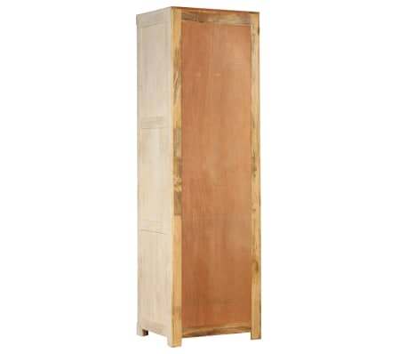 vidaXL Garde-robe Bois de manguier massif 60 x 50 x 200 cm[5/15]