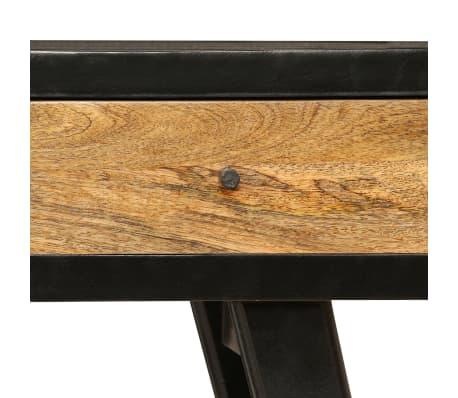 vidaXL Skrivebord heltre mango 120x40x76 cm[7/14]